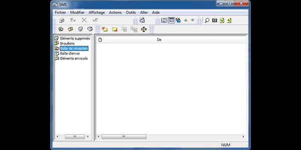 Alcatel OT-X500D - Contact, Appels, SMS/MMS - Envoyer un SMS - Étape 4