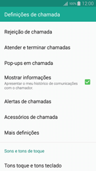 Samsung Galaxy A5 - Chamadas - Como bloquear chamadas de um número -  6