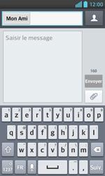 LG Optimus L5 II - Contact, Appels, SMS/MMS - Envoyer un SMS - Étape 8