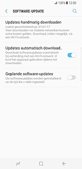 Samsung Galaxy S8 - Software update - update installeren zonder PC - Stap 5