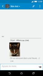 HTC Desire 820 - Contact, Appels, SMS/MMS - Envoyer un MMS - Étape 19