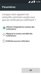 Wiko Rainbow Lite 4G - Sécuriser votre mobile - Activer le code de verrouillage - Étape 11