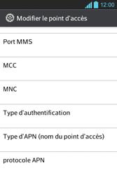 LG E610 Optimus L5 - Internet - Configuration manuelle - Étape 13