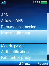 Sony Ericsson W100i Spiro - Mms - Configuration manuelle - Étape 11