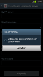 Samsung I9305 Galaxy S III LTE - E-mail - Account instellen (POP3 zonder SMTP-verificatie) - Stap 15