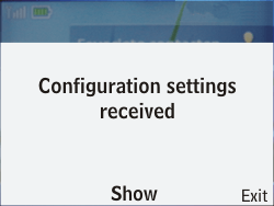 Nokia C3-00 - MMS - Automatic configuration - Step 3