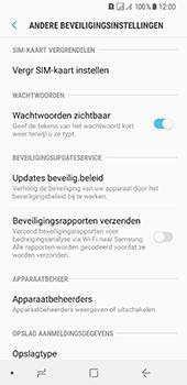 Samsung Galaxy A8 (2018) (SM-A530F) - Beveiliging en ouderlijk toezicht - Hoe wijzig ik mijn SIM PIN-code - Stap 6
