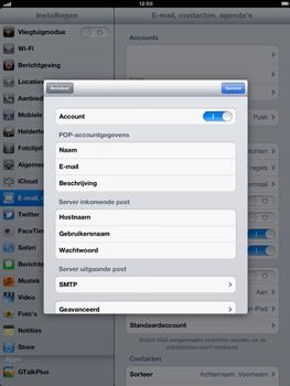 Apple iPad 4th generation - E-mail - e-mail instellen: POP3 - Stap 15