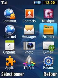 Samsung Solid 271 - Photos, vidéos, musique - Envoyer une photo via Bluetooth - Étape 3