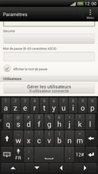 HTC One S - Internet et connexion - Partager votre connexion en Wi-Fi - Étape 9