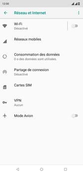 Wiko View 2 Plus - Réseau - activer 4G - Étape 5