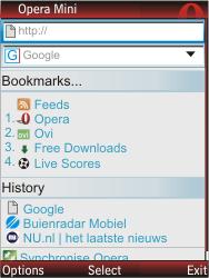 Nokia X2-00 - Internet - Internet browsing - Step 5