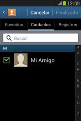 Samsung S6310 Galaxy Young - Mensajería - Escribir y enviar un mensaje multimedia - Paso 6