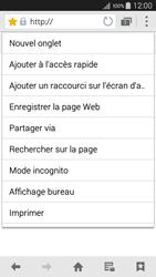 Samsung Galaxy A3 (A300FU) - Internet et connexion - Naviguer sur internet - Étape 17