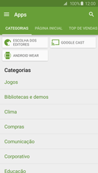 Samsung Galaxy S6 - Aplicativos - Como baixar aplicativos - Etapa 6