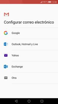 Huawei Mate 9 - E-mail - Configurar Gmail - Paso 7