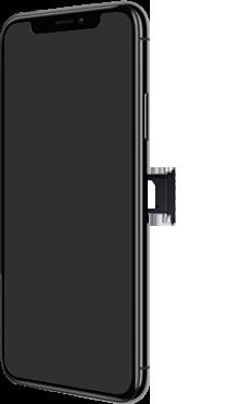 Apple iPhone XS Max - Premiers pas - Insérer la carte SIM - Étape 5