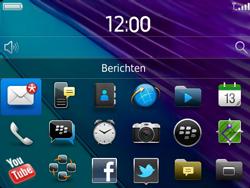 BlackBerry 9790 Bold - Instellingen - Configuratiebericht ontvangen - Stap 9