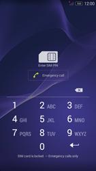 Sony Xperia M2 - Primeiros passos - Como ligar o telemóvel pela primeira vez -  3