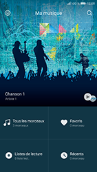 Honor 9 - Photos, vidéos, musique - Ecouter de la musique - Étape 4