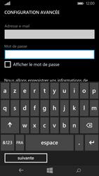 Microsoft Lumia 640 - E-mail - Configurer l