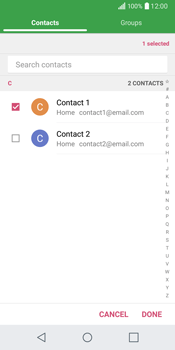 LG Q6 - Email - Sending an email message - Step 8
