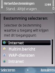 Nokia E75 - Internet - Handmatig instellen - Stap 11