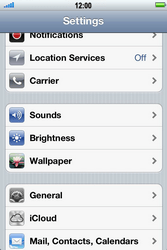 Apple iPhone 4 S - Internet - Manual configuration - Step 3
