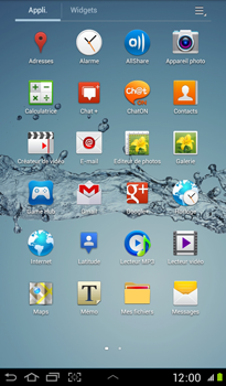 Samsung P3100 Galaxy Tab 2 7-0 - Mms - Envoi d