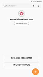 Samsung Galaxy J3 (2017) - Contact, Appels, SMS/MMS - Ajouter un contact - Étape 5