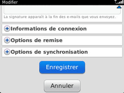 BlackBerry 9320 Curve - E-mail - Configuration manuelle - Étape 14