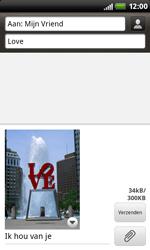 HTC S510b Rhyme - MMS - Afbeeldingen verzenden - Stap 13