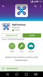 LG K8 - Applications - MyProximus - Étape 11