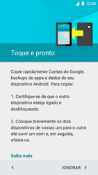 Motorola Moto Turbo - Primeiros passos - Como ativar seu aparelho - Etapa 9