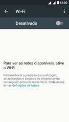 """Alcatel Pixi 4 (5"""") - Wi-Fi - Como ligar a uma rede Wi-Fi -  5"""