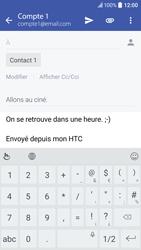 HTC 10 - E-mail - envoyer un e-mail - Étape 9