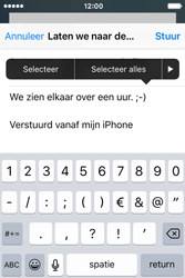 Apple iPhone 4 S iOS 9 - E-mail - Hoe te versturen - Stap 9