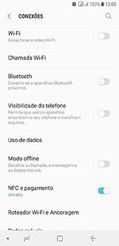 Samsung Galaxy J6 - Rede móvel - Como ativar e desativar uma rede de dados - Etapa 5