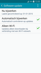 Samsung A500FU Galaxy A5 - Software update - update installeren zonder PC - Stap 6