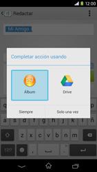 Sony Xperia M2 - Mensajería - Escribir y enviar un mensaje multimedia - Paso 17