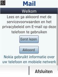 Nokia Asha 203 - E-mail - Handmatig instellen - Stap 5