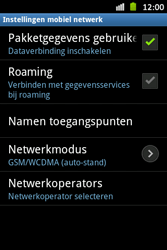 Samsung S6500D Galaxy Mini 2 - Internet - aan- of uitzetten - Stap 6