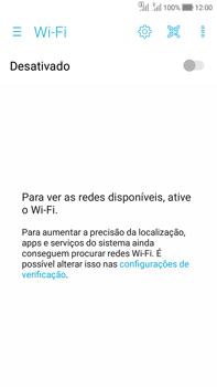Asus Zenfone Selfie - Wi-Fi - Como configurar uma rede wi fi - Etapa 5