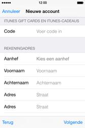 Apple iPhone 4S met iOS 8 (Model A1387) - Applicaties - Account aanmaken - Stap 22