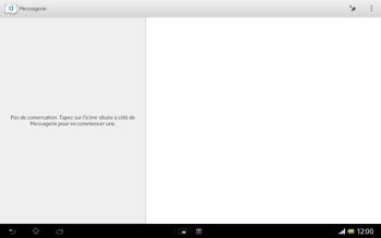 Sony SGP321 Xperia Tablet Z LTE - MMS - envoi d'images - Étape 3