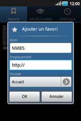 Samsung S5660 Galaxy Gio - Internet - navigation sur Internet - Étape 9