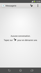 Sony Xpéria M2 - Contact, Appels, SMS/MMS - Envoyer un SMS - Étape 4