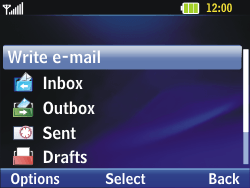LG C320 InTouch Lady - Email - Sending an email message - Step 5