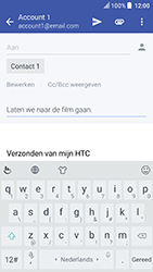 HTC U Play (Model 2PZM3) - E-mail - Hoe te versturen - Stap 9