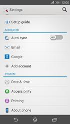 Sony E2003 Xperia E4 G - Network - Installing software updates - Step 5